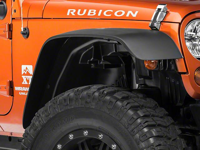 RedRock 4x4 Inner Fender Liner Kit - 4-Piece (07-18 Jeep Wrangler JK)