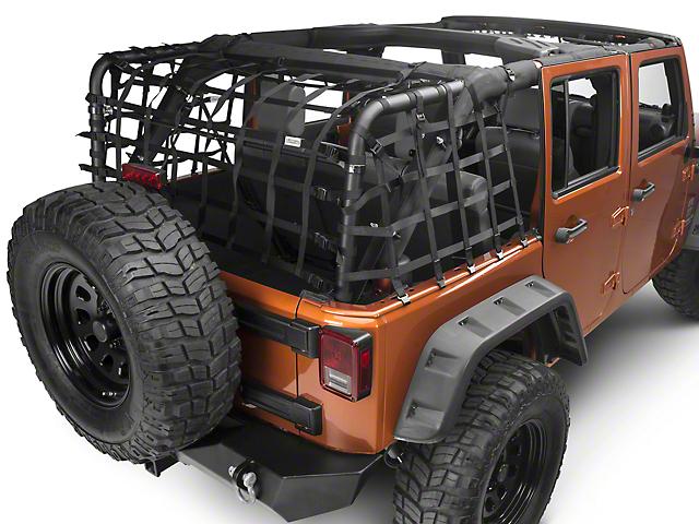 RedRock 4x4 Xtender Net System (07-18 Jeep Wrangler JK 4 Door)