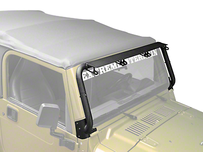 Rugged Ridge Windshield Mounted Light Bar (97-06 Jeep Wrangler TJ)