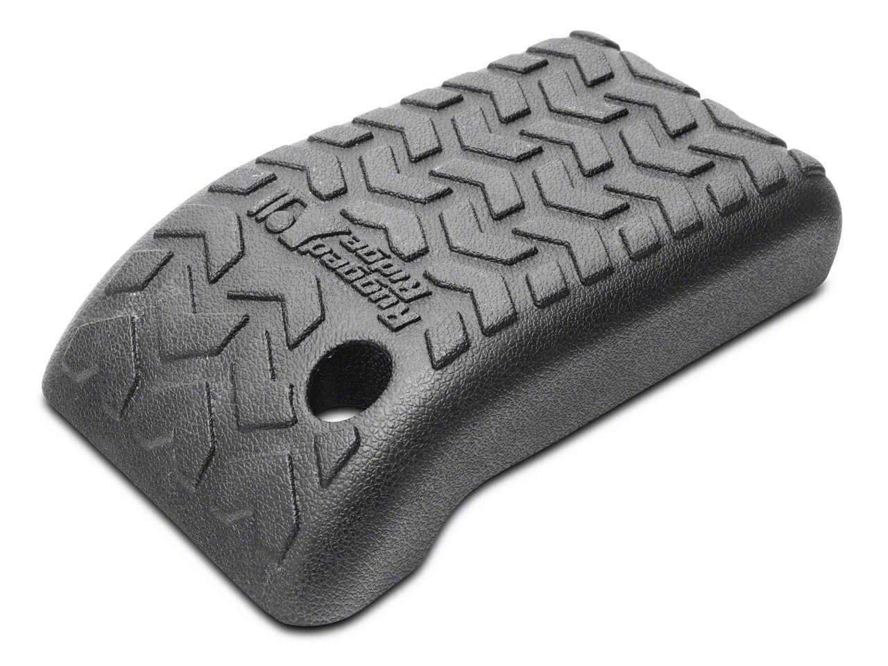 Rugged Ridge All Terrain Center Console Cover - Black (02-06 Jeep Wrangler TJ)