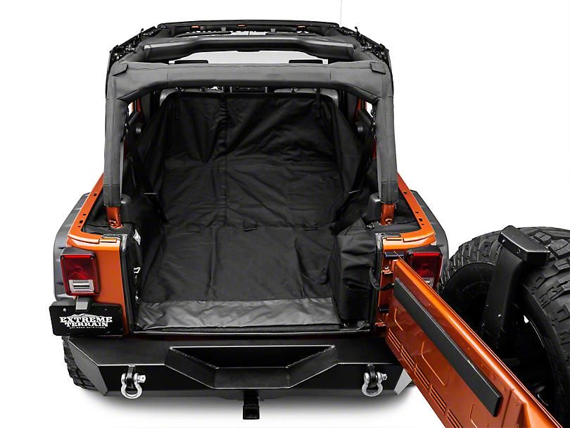 Rugged Ridge C3 Cargo Cover (07-18 Jeep Wrangler JK 4 Door)