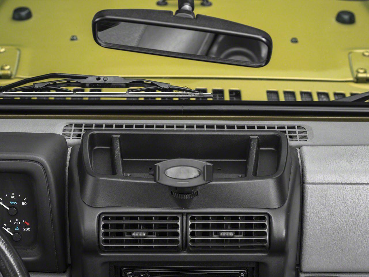 Rugged Ridge Jeep Wrangler Cb Radio Dash Mount 13551 09