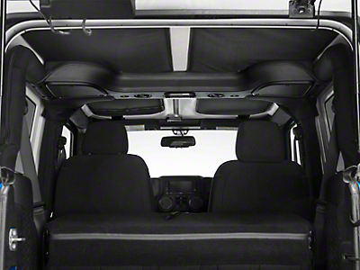 J Tops USA Headliner - Black (07-18 Wrangler JK 2 Door)