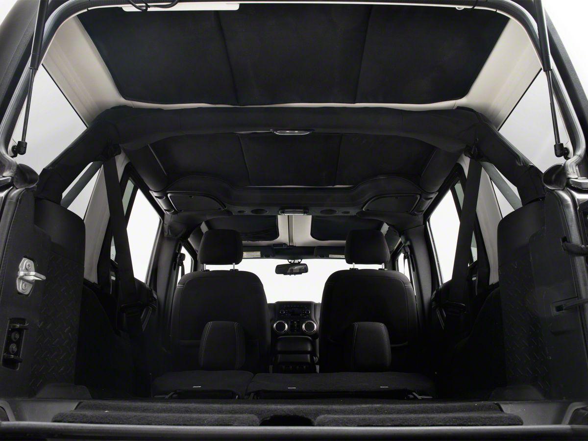 JTopsUSA Hard Top Headliner - Black (11-18 Jeep Wrangler JK 4 Door)