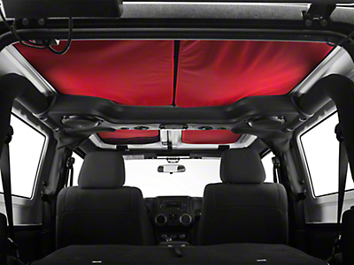 JTopsUSA Headliner - Red (07-18 Wrangler JK 2 Door)
