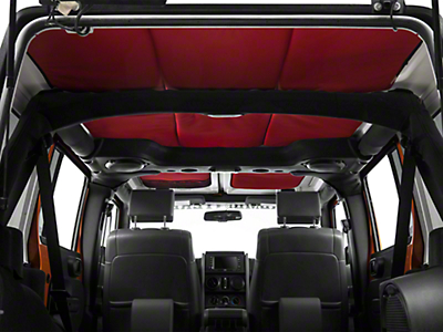 J Tops USA Headliner - Red (07-18 Wrangler JK 4 Door)