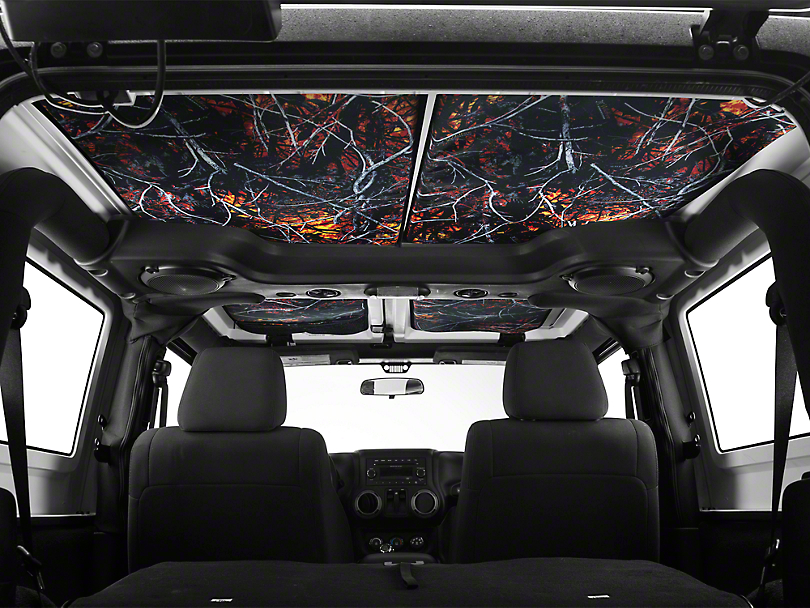 JTopsUSA Hard Top Headliner - WildFire (07-10 Jeep Wrangler JK 2 Door)