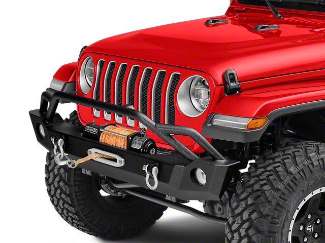 Barricade Extreme HD Front Bumper with 9,500 lb. Winch (18-20 Jeep Wrangler JL)