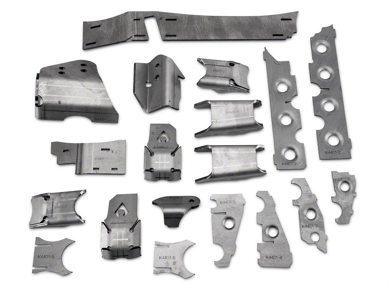 Artec Industries Front Axle Armor Kit (07-18 Wrangler JK Rubicon)
