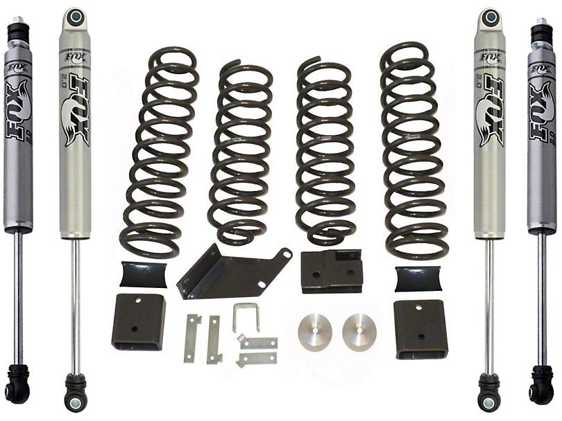 Max Trac 3 in. Lift Kit w/ Fox Shocks (07-18 Jeep Wrangler JK)