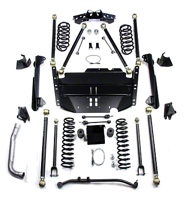 Teraflex 4 in. Pro LCG Suspension System w/o Shocks (97-06 Wrangler TJ)