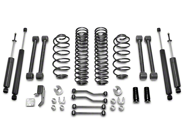 Max Trac 4-Inch Suspension Lift Kit (03-06 Jeep Wrangler TJ)