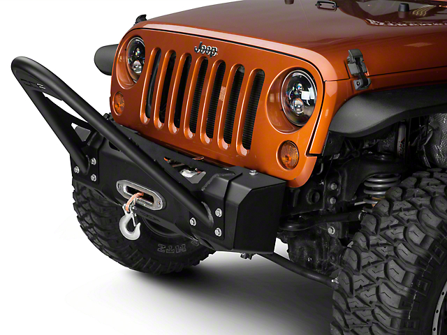 Off Camber Fabrications by MBRP Bumper Stinger Kit for OCF Bumpers (07-18 Jeep Wrangler JK; 2018 Jeep Wrangler JL)