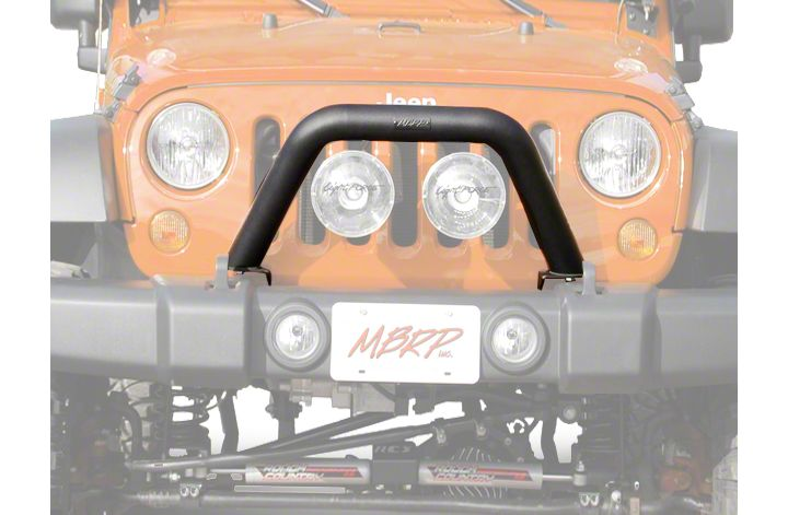 How to Install Off Camber Fabrications by MBRP Front Light Bar ...