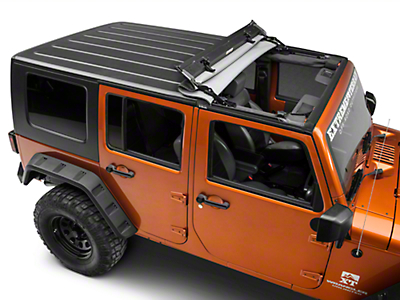 Bestop Sunrider for Hardtop - Black Diamond (07-18 Jeep Wrangler JK)
