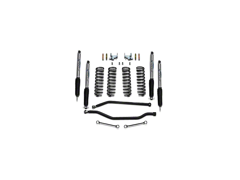 pro comp suspension jeep wrangler 3 5 in  lift kit w   pro