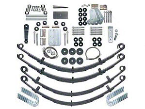 Rubicon Express 4.5 in. Extreme Duty Lift Kit w/ Mono Tube Shocks (87-95 Wrangler YJ)