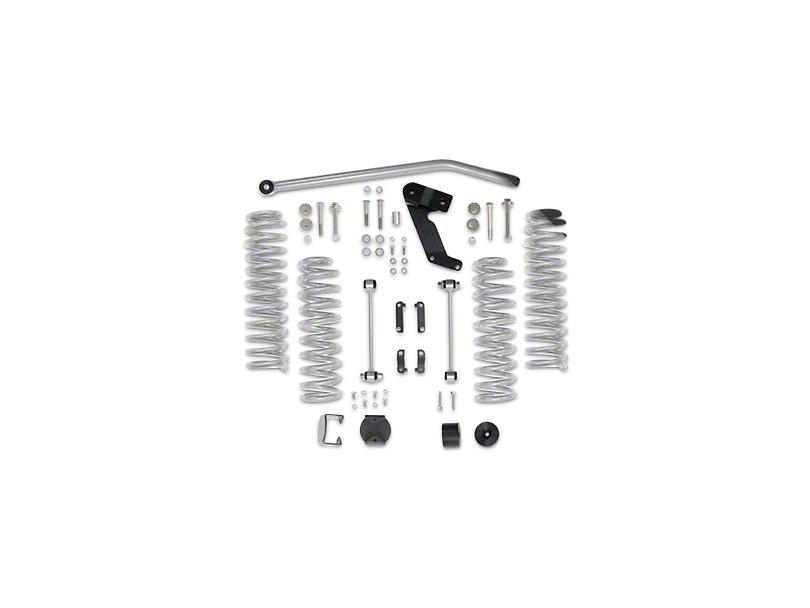 Rubicon Express Jeep Wrangler 3.5 in. Standard Coil Lift