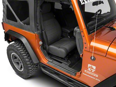 Rugged Ridge All-Terrain Entry Guard Kit (07-18 Jeep Wrangler JK 2 Door)