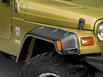 Rugged Ridge All Terrain 6 in. Fender Flare Kit - 4 Piece (97-06 Wrangler TJ)