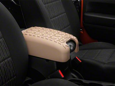Rugged Ridge All-Terrain Center Console Cover - Tan (07-10 Jeep Wrangler JK)