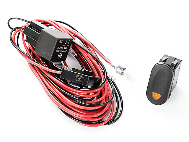 rugged ridge wrangler light wiring harness kit includes 1 amber jeep yj radio wiring diagram rugged ridge light wiring harness kit includes 1 amber switch (87 95 jeep wrangler yj)