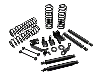 Mammoth 4 in. Lift Kit w/ Shocks (07-18 Wrangler JK 2 Door)