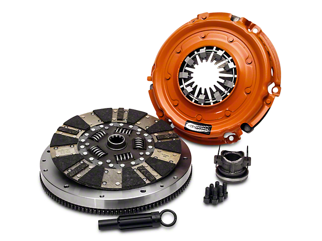 Centerforce Dual Friction Organic/Carbon Clutch Kit w/ 8-Bolt Flywheel - 10 Spline (12-18 3.6L Jeep Wrangler JK)
