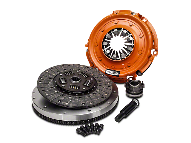 Centerforce ll Organic Clutch Kit with 8-Bolt Flywheel; 10 Spline (12-18 3.6L Jeep Wrangler JK)