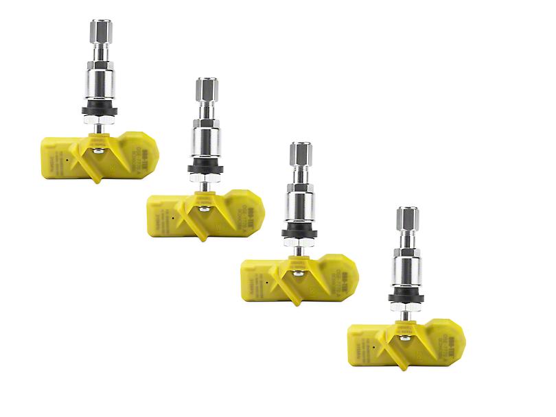 Oro-Tek TPMS Sensor Kit; 4 Wheels (07-12 Jeep Wrangler JK)