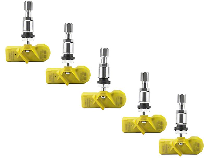 Oro-Tek TPMS Sensor Kit; 5 Wheels (07-12 Jeep Wrangler JK)