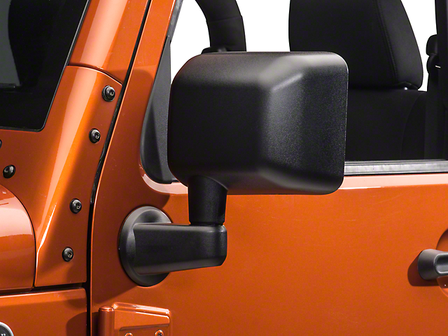 OPR Powered Heated Mirror; Driver Side (2014 Jeep Wrangler JK)