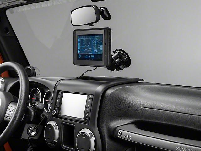 Magellan eXplorist TRX7 Off-Road GPS Navigation (87-20 Jeep Wrangler YJ, TJ, JK & JL)