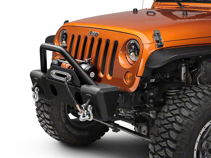 RedRock 4x4 Basher Front Bumper (07-18 Jeep Wrangler JK)