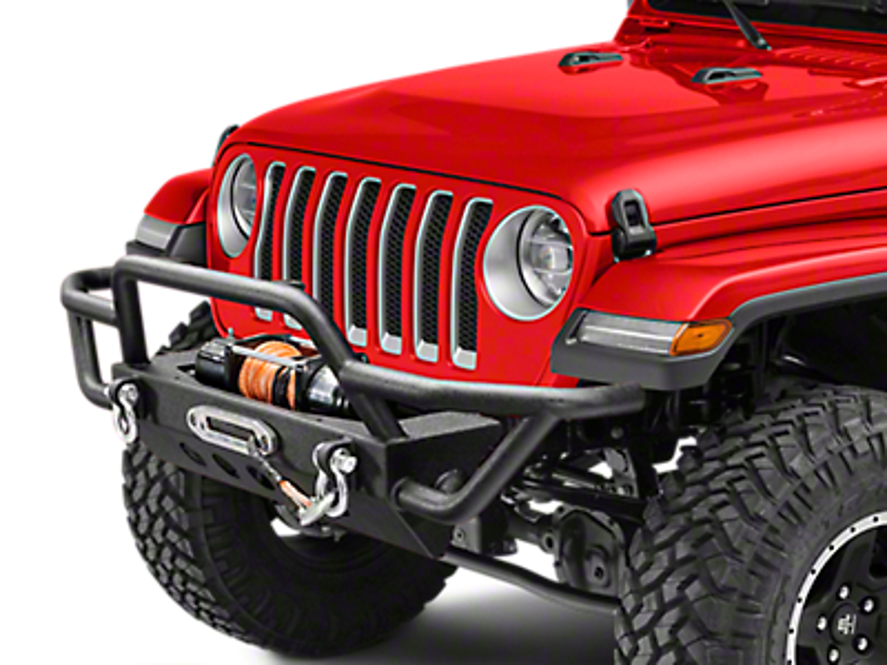 RedRock 4x4 Rock Crawler Front Bumper (2018 Jeep Wrangler JL)