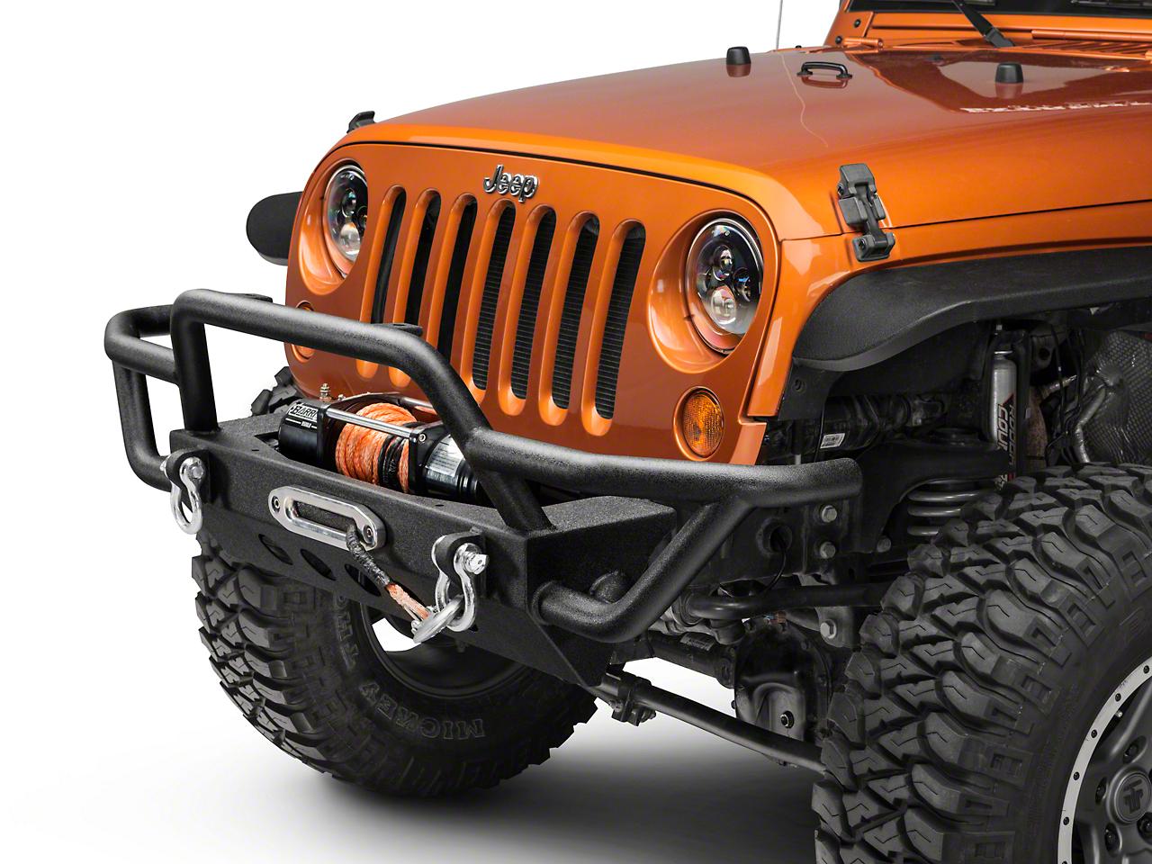 RedRock 4x4 Rock Crawler Front Bumper (07-18 Jeep Wrangler JK)