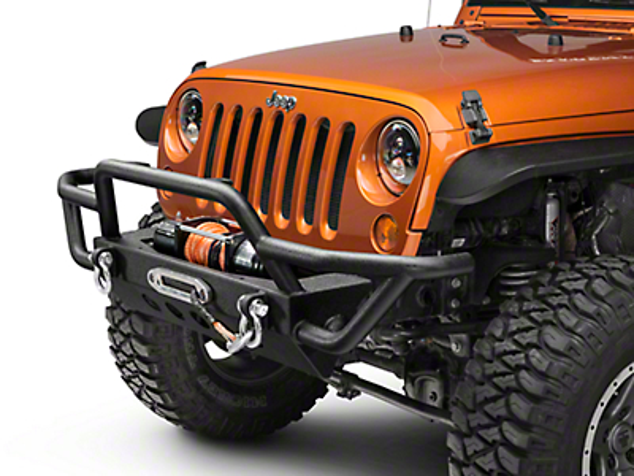RedRock 4x4 Rock Crawler Front Bumper (07-18 Wrangler JK)