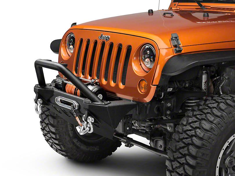 RedRock 4x4 Stubby Front Bumper (07-18 Jeep Wrangler JK)