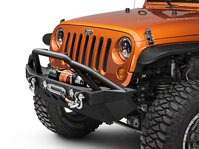 RedRock 4x4 Approach Front Bumper w/ LED Lights (07-18 Jeep Wrangler JK)