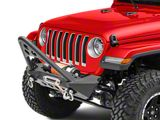 RedRock 4x4 Stubby Winch Front Bumper with Stinger Bar (18-21 Jeep Wrangler JL)