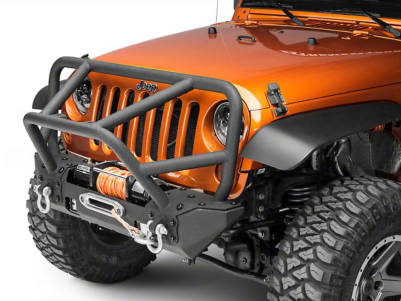 RedRock 4x4 Stubby Juggernaut Front Bumper w/ LED (07-18 Jeep Wrangler JK)