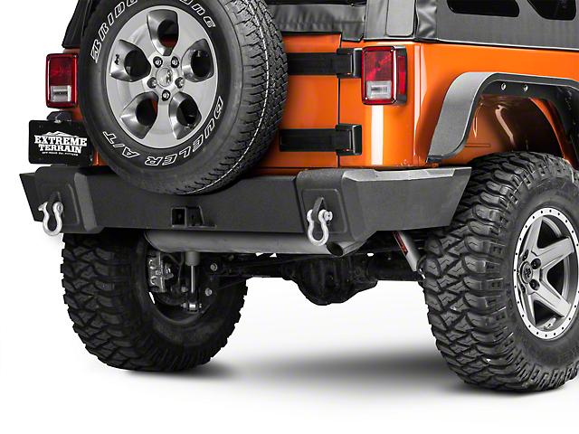 RedRock 4x4 Full Width HD Rear Bumper (07-18 Wrangler JK)