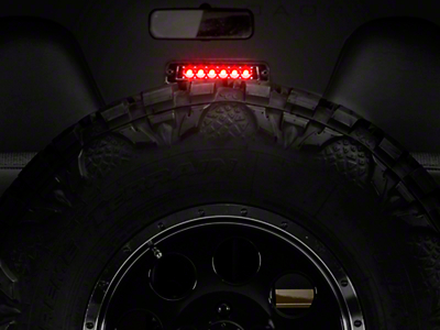 Axial LED 3rd Brake Light - Bermuda Black (97-06 Jeep Wrangler TJ)
