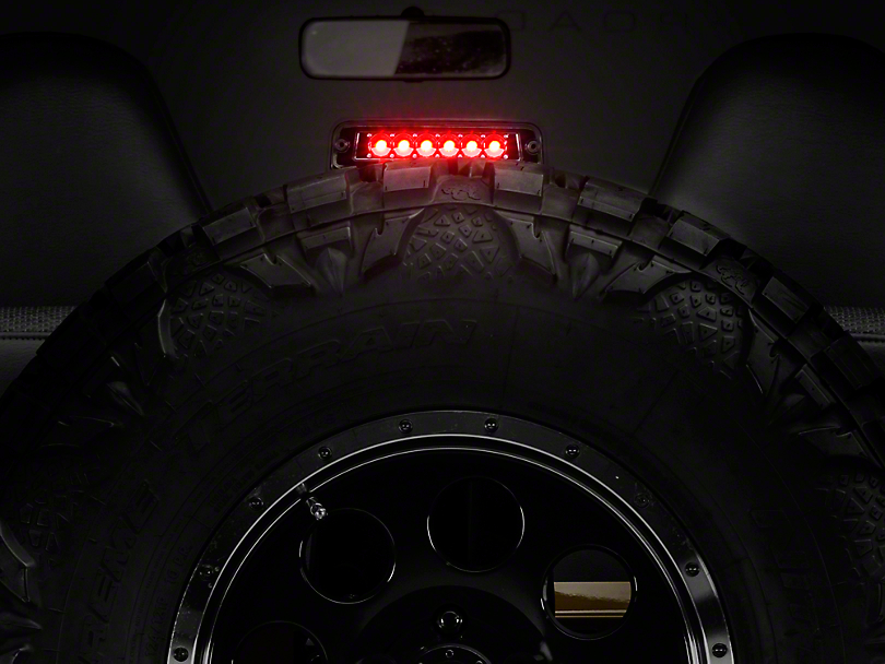 Axial LED 3rd Brake Light - Crystal Clear (97-06 Jeep Wrangler TJ)