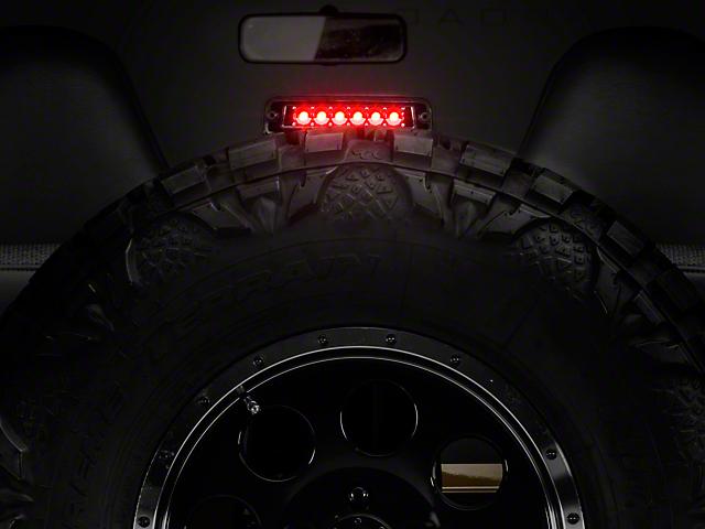 LED Third Brake Light; Platinum Smoked (97-06 Jeep Wrangler TJ)
