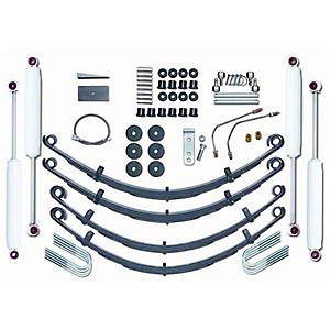 Rubicon Express 4 in. Standard Lift Kit w/ Shocks (87-95 Wrangler YJ)