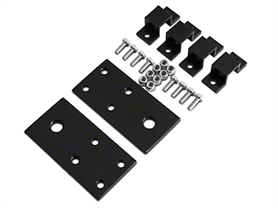 Surco Night Vision Light Bracket for Safari Rack (87-18 Jeep Wrangler YJ, TJ, JK & JL)