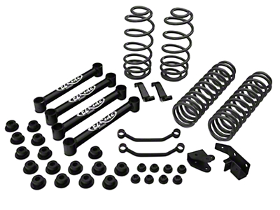 Tuff Country 4 in. EZ-Ride Lift Kit w/o Shocks (97-02 Jeep Wrangler TJ)