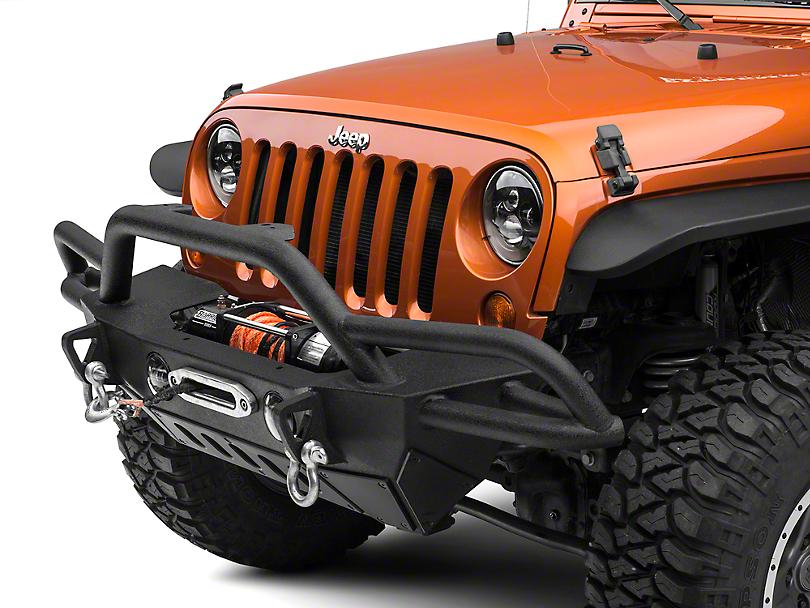 e30bf3d57fb Smittybilt Jeep Wrangler SRC Gen2 Front Bumper 76724 (07-18 Jeep Wrangler  JK)