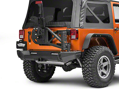 Smittybilt Gen2 Bolt On Tire Carrier (07-18 Jeep Wrangler JK)